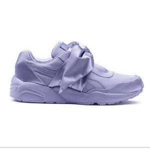 Puma Fenty Lavender Bow Rihanna Sneaker NEW 8.5